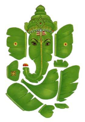 Ganesha, den vise/tänkaren.