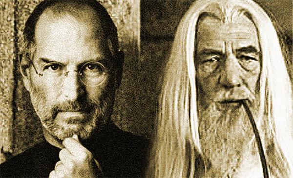 Steve Jobs och Gandalf: Magiker.
